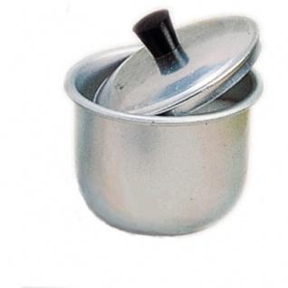 GLÜCKSKÄFER 530038 - Zuckerdose mit Deckel aus Aluminium