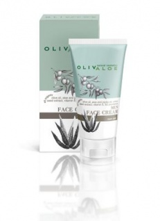 OLIVALOE 00160 - MEN FACE CREAM - Gesichtscreme für Männer 50ml, Naturkosmetik