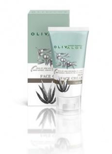 OLIVALOE 00160 - MENS FACE CREAM, Gesichtscreme für Männer 50ml