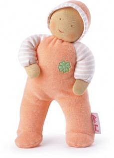 Käthe Kruse 38232 - Baby Schatzi Glücksengel, orange