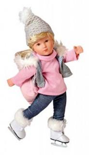 Käthe Kruse 41469 - Sophie Muriel Schlittschuhläuferin Puppe, 41cm
