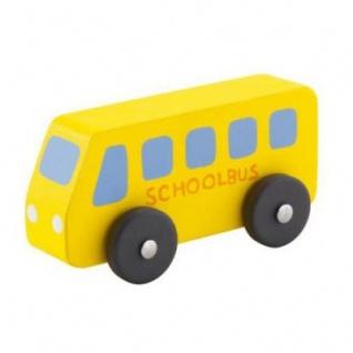 Sevi 82120 - Holzauto Schulbus