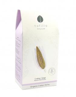 TOFILLO 10032 - Kräutertee CRETAN SAGE - kretischer Salbei 35g Organic
