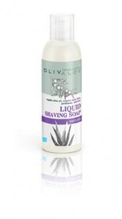 OLIVALOE 00112 - Liquid Shaving Soap - Flüssige Rasierseife 150ml, Naturkosmetik