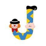 Sevi 81066 - Buchstabe Clown J 2006