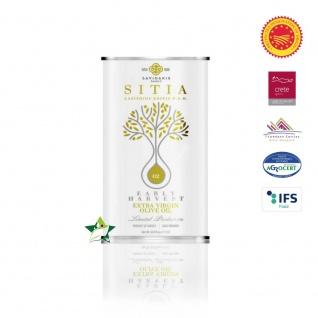 SI-MEL 12035 Natives Olivenöl Extra 1L Dose - Frühe Ernte PDO SITIA Lassithi KRETA