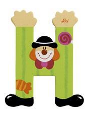Sevi 81744 - Buchstabe Clown H