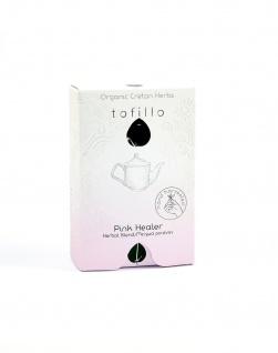 TOFILLO 10051 - Kräutertee PINK HEALER - Salbei & Aladanos Pink Rockrose 9g Organic