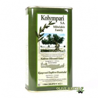 KOLYMPARI SA 04055 Natives-Olivenoel Extra Kolympari Mihelakis 1000ml Dose