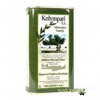 KOLYMPARI SA 04055 Natives-Olivenoel Extra Kolymvari Mihelakis 1000ml Dose