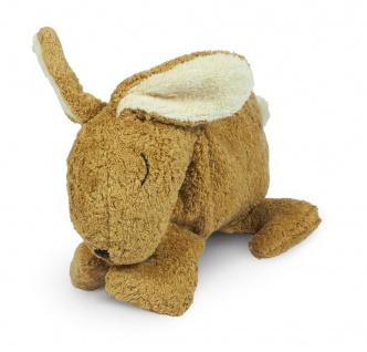 SENGER Y21016 - Kuscheltier Hase klein beige, Wärme-/Kühlkissen
