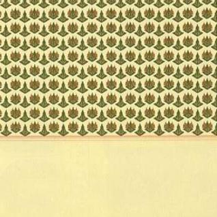 Bodo Hennig 26447 - Tapete Vienna (10 Bogen) für Puppenstube