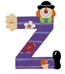 Sevi 81762 - Buchstabe Clown Z