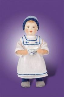 Käthe Kruse 20001 - Puppe Bambino Paul mit Zwiebelmustertasse