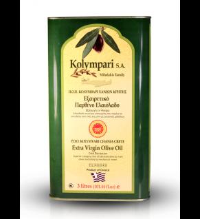 KOLYMPARI PDO 04037 Natives Olivenöl Extra 3000 ml Mihelakis Kolymvari
