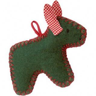 Käthe Kruse 78328 - Weihnachtsanhänger Esel, Greifling