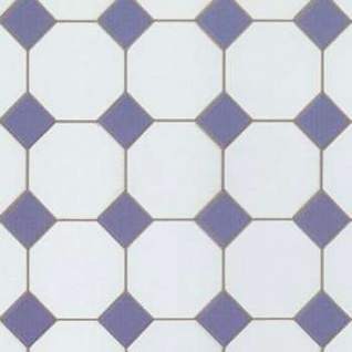 Bodo Hennig 26424 - Fußbodenfliesen (5 Bögen) für Puppenstube