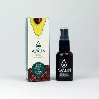 EVERCRETE 20001 - AVALIN Avocado Öl 30ml, 100% Organic; Naturkosmetik aus Kreta