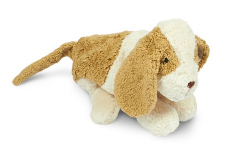 SENGER Y21036 - Kuscheltier Hund klein, Wärme-/Kühlkissen
