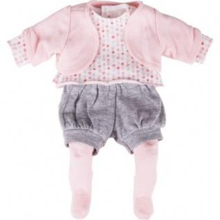 Käthe Kruse 36654 - Linda Outfit Bekleidung, 4-teilig
