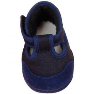 Käthe Kruse 33371 - Puppenschuhe Spangenschuhe für Puppen, blau