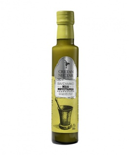 CRETAN NECTAR 01032 - Balsamico-Essig mit Honig & Senf von Chania Kreta 250ml