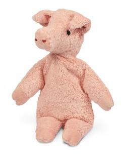 SENGER Y21034 - Kuscheltier Schwein klein, Wärme-/Kühlkissen