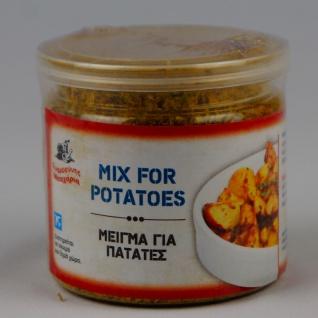 EFROSINI SPICES 137005 - Gewürzmischung für Ofenkartoffeln 60g in Dose Kreta