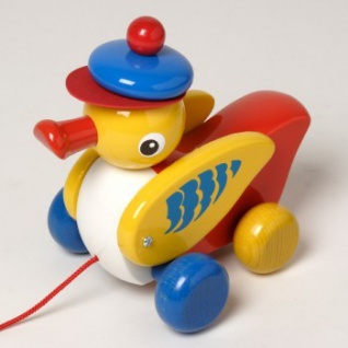 Walter 63797 - Wickel-Wack, Nachziehspielzeug