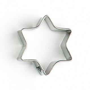 GLÜCKSKÄFER 531105 - Mini-Ausstechform Stern 6-zackig, Kinderküche - Vorschau
