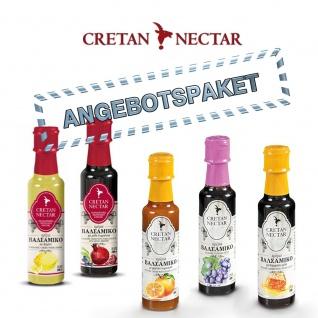 CRETAN NECTAR - KRETA Nektar Balsamico-Creme, 5 verschiedene Sorten je 200ml von Chania