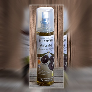 KOLYMPARI PDO 04901 - PDO Natives Olivenöl Extra 150ml in Sprayflaschen Mihelakis