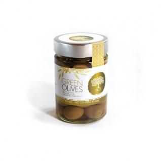 .VIOS 05990 - 6x Oliven im Glas, Kalamon, Grüne Oliven in verschiedenen Versionen 1, 2kg - Vorschau 3