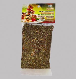 EFROSINI SPICES 033053 - Gewürzmischung für Souvlaki (griechische Fleischspieße) 50gr Kreta