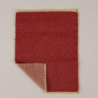 Bodo Hennig 26405 - Wendeteppich rot für Puppenstube