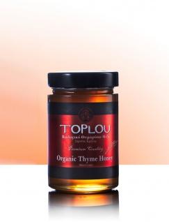 "SI-MEL SAVIDAKIS 12501 - Premium Organic-Thymianhonig "" Toplou"" 400gr von Sitia Kreta"