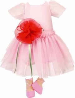 Käthe Kruse 54512 - Bekleidung für Puppe Lolle - Ballerina Kleid