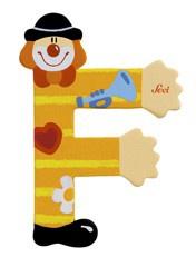 Sevi 81742 - Buchstabe Clown F