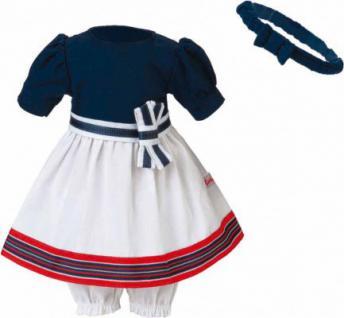 Käthe Kruse 42510 - Puppen Bekleidung - Sommerkleid mit Haarband, 39-41 cm