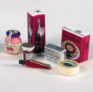 Bodo Hennig 27026 - Kühlschrankpackung für Puppenstube