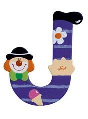 Sevi 81746 - Buchstabe Clown J