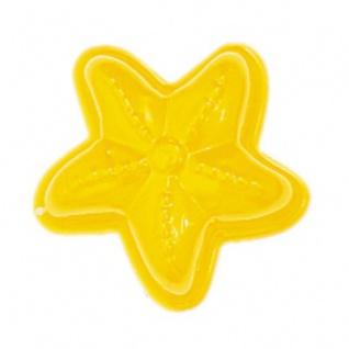 GLÜCKSKÄFER 535028 - Relief-Sandform Seestern, gelb