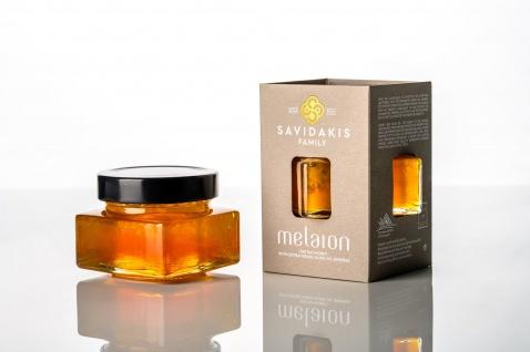 .SI-MEL SAVIDAKIS 12990 - MELAION Honig mit extra nativen Olivenöl-Kugeln, Kreta 150g (NEUHEIT!)