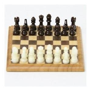Bodo Hennig 26670 - Schachspiel für Puppenstube - Rarität