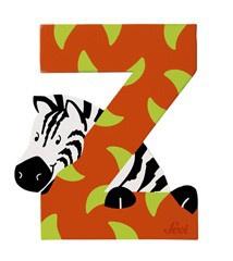 Sevi 81626 - Buchstabe Zebra Z