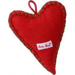 Käthe Kruse 78329 - Weihnachtsanhänger Herz