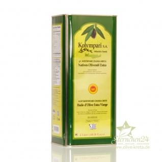 KOLYMPARI PDO 04038 Natives Olivenöl Extra 2x5 Liter Dose Kolymvari GU