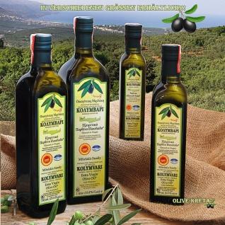 3x KOLYMPARI PDO 04025 Natives Olivenöl Extra 1 Liter Flasche (AKTION! 3 Flaschen a 1000 ml Kolymvari) - Vorschau 2