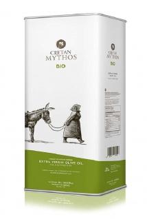 CRETAN MYTHOS 03518 - Organic Natives Olivenöl Extra 5Liter von Chania Kreta