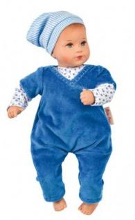 Käthe Kruse 36553 - Puppe Mini Bambina Luis bleu